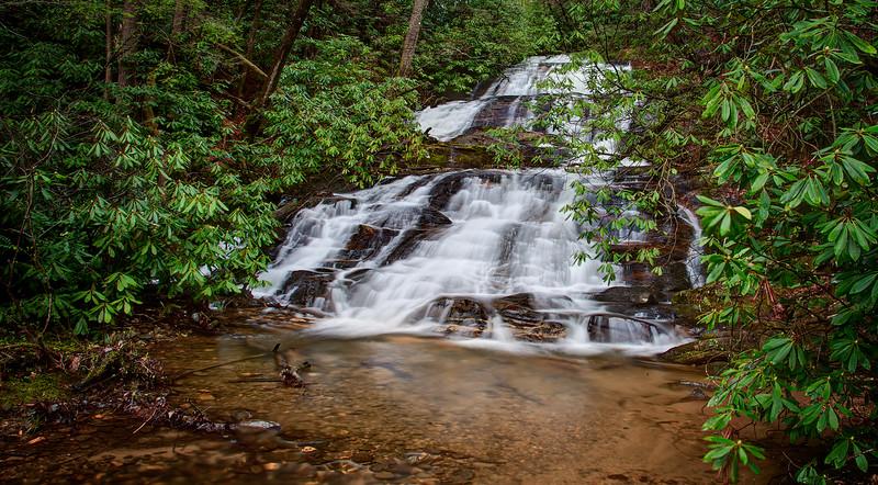 Falls on Davis Creek