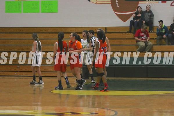 Eldred vs. S.S. Seward Girls Basketball