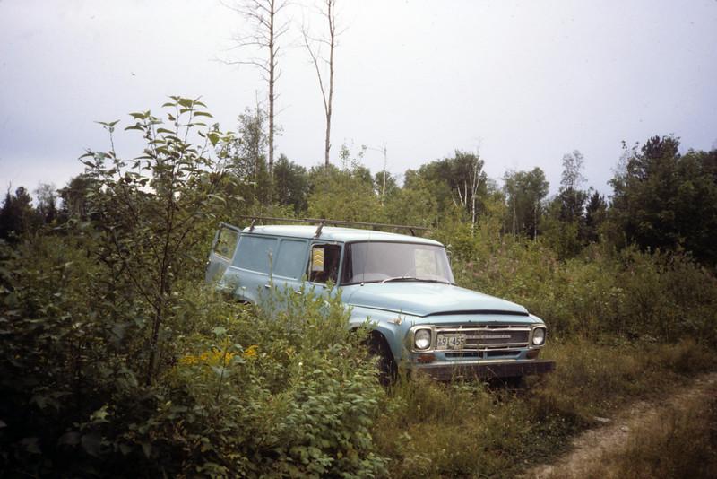International Harvester ex-Sears panel truck.