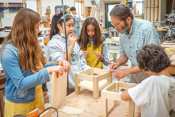 July 9: Inside the Woodshop and Ceramics Classroom