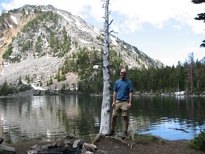 Summer's Birthday trip to Louise lake