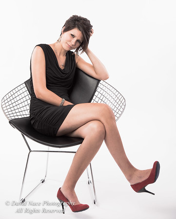 Alyssa black dress