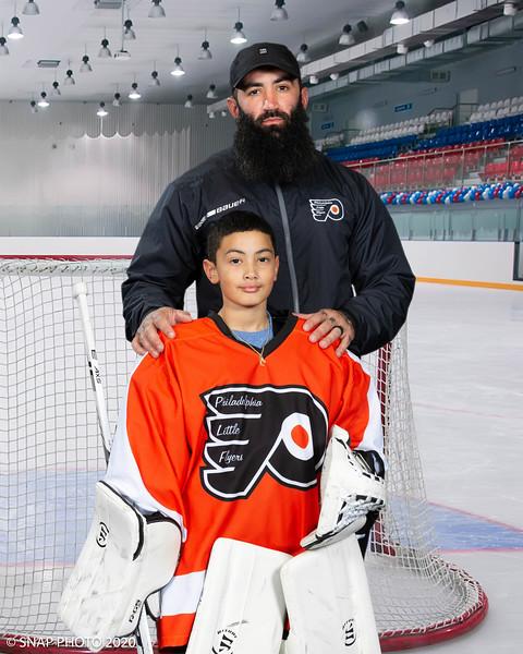 2020 Philadelphia Little Flyers Coach-Player Shots