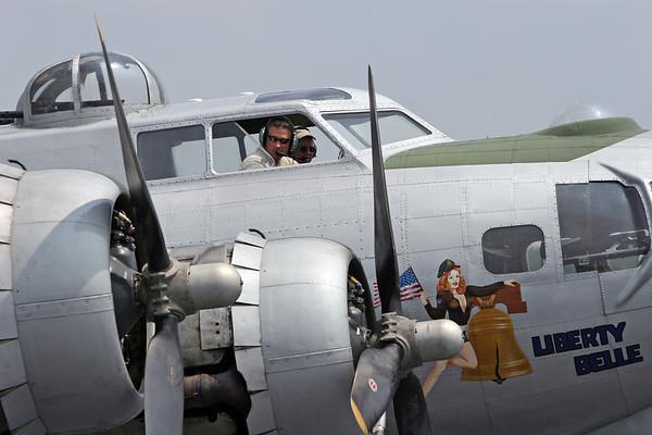 B-17 Visit to Chesapeake, VA