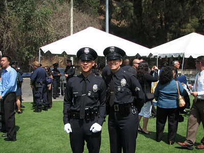 2007.05.25 Fri - Allen Hsiao's LAPD Police Academy graduation