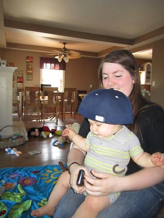 Baby James Oct 2011