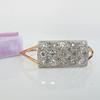 6.50ctw Mixed Antique Cut Diamond Cluster Bangle 7
