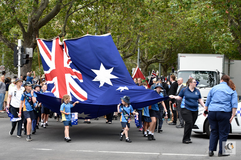 Australia Day in Melbourne 2017