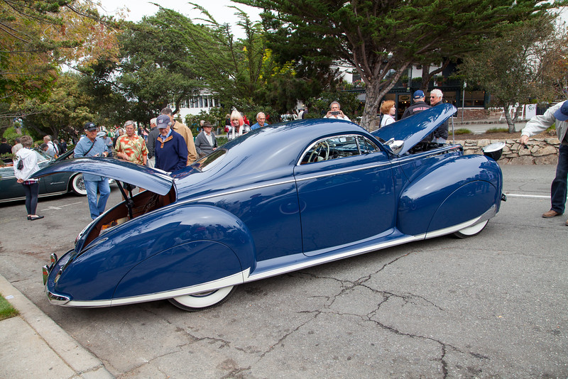 Jack Kiely -1940 Mercury Eight Coupe