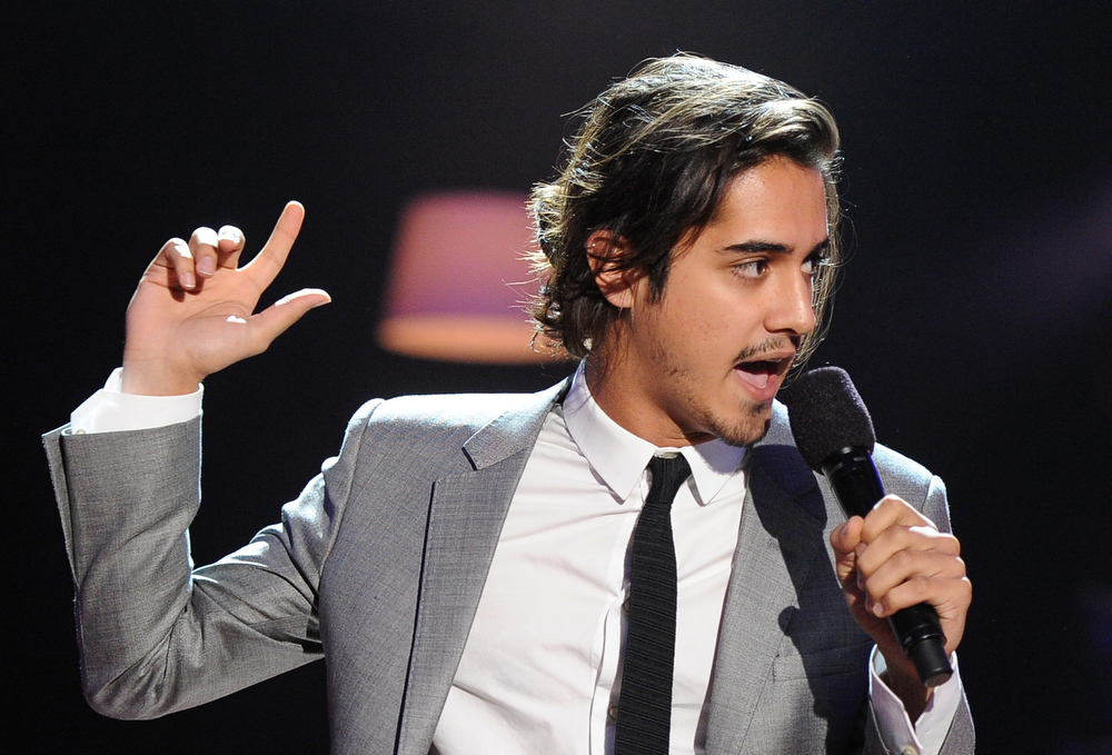 . Actor Avan Jogia speaks onstage at the DoSomething.org and VH1\'s 2013 Do Something Awards at Avalon on July 31, 2013 in Hollywood, California.  (Photo by Kevin Winter/Getty Images)