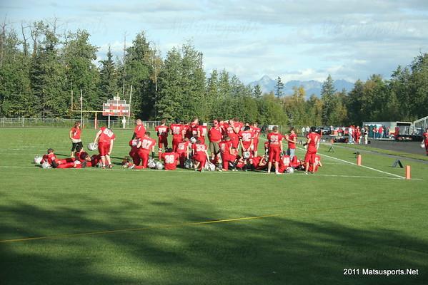 Wasilla Vs. Juneau JV 9-9-2011