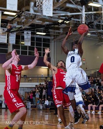 Broughton boys varsity basketball vs Sanderson. Play 4 Kay. January 17, 2019. 750_4755