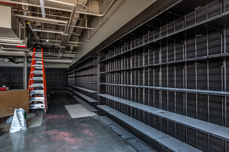 August 19 - empty bookshelves in a soon to be Amazon Book Store.jpg
