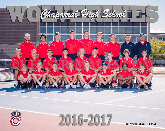 2016-2017 CHAPARRAL BOYS TENNIS