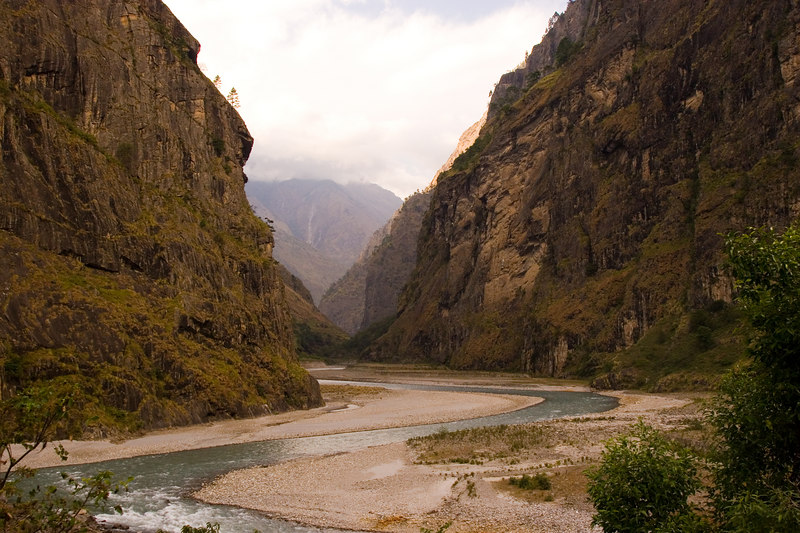 Valley of dreams - near Dobhan - on the Manaslu trail.
