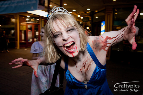 Adelaide Zombie Walk October 2009