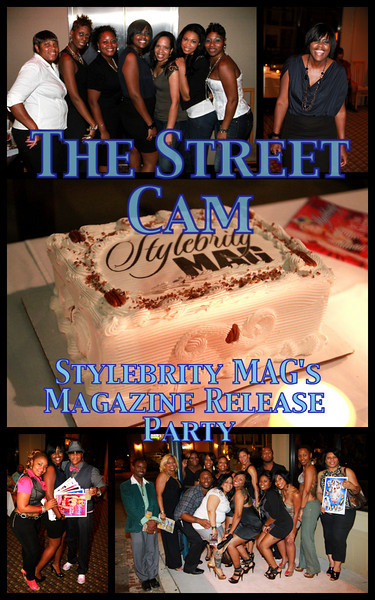 The Street Cam: Stylebrity MAG's Magazine Release Party
