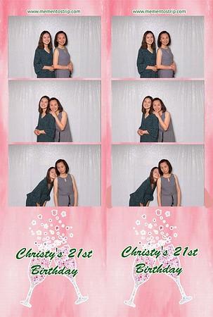 Christy's 21st Birthday