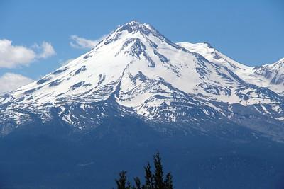 Mount Shasta, California and Lassen Volcano