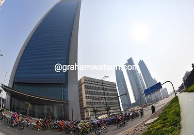 Abu Dhabi Tour Stage 2:  Nation Towers > Al Marina, 115kms