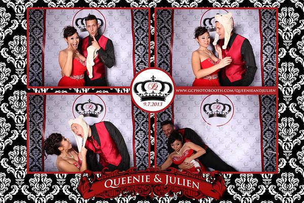 Queenie and Julien Wedding