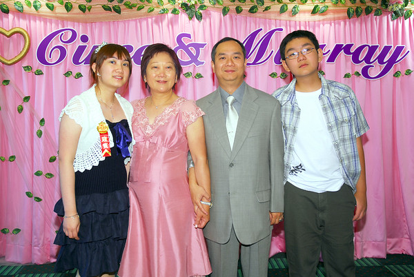 Hong Kong Reception - Family Portraits
