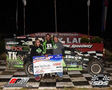 Grandview Speedway - Freedom 38er - 9/20/19 - Steve Sabo