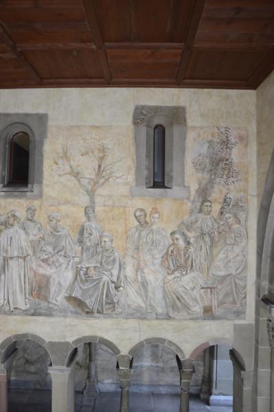 Paul Bodmer, Freskenzyklus im Fraumünsterkreuzgang Zürich