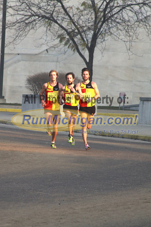 10K Finish - 2012 Detroit Turkey Trot