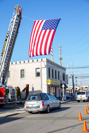 Funeral For Ex Chief William Lahey