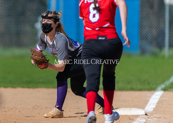 Broughton Lady Caps softball vs Sanderson. March 30, 2021