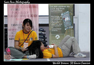 20061014~20061015 - World Vision: 30-hours Famine