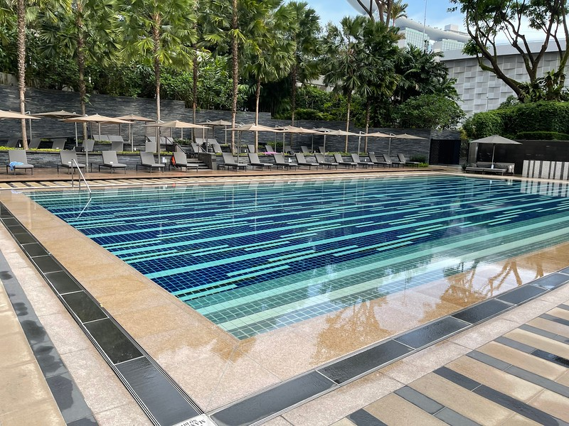 Ritz-Carlton Singapore Swimming Pool