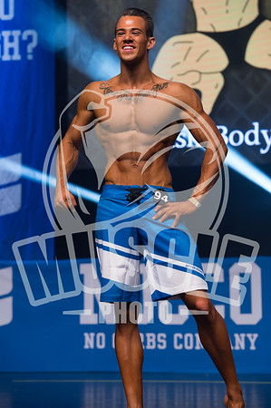 Mens Physique Junior over 178 cm