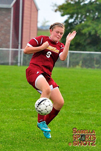 9.26.12 - NBHS Lady Lions vs. Our Lady of Sacred Heart (OLSH)