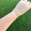 Vintage French Ruby & Diamond Serpent Bracelet 12
