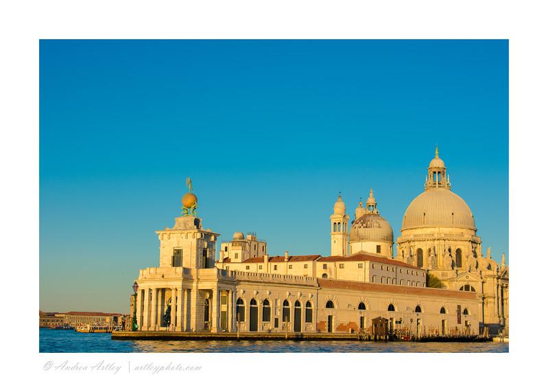 Punta della Dogana and Santa Maria della Salute, Venice, Italy