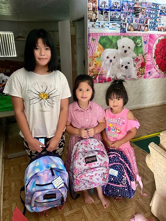 Backpack Buddies and Back-to-School