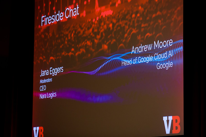 Fireside Chat with Andrew Moore, Head of Google Cloud Artificial IntelligenceJana Eggers, CEO, Nara Logics