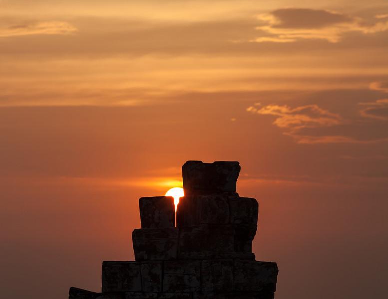 Phnom Bakheng sunset