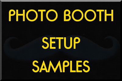 Booth Setups