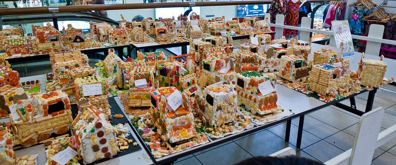 Left-over ginger bread cakes from last Christmas. Bangsar Village.