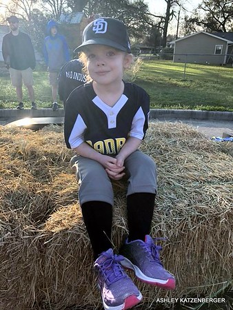 2018 03-03 Aria's first T-Ball Game day