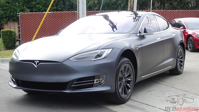 2018 Tesla Model S - Midnight Silver XPEL Stealth Wrap