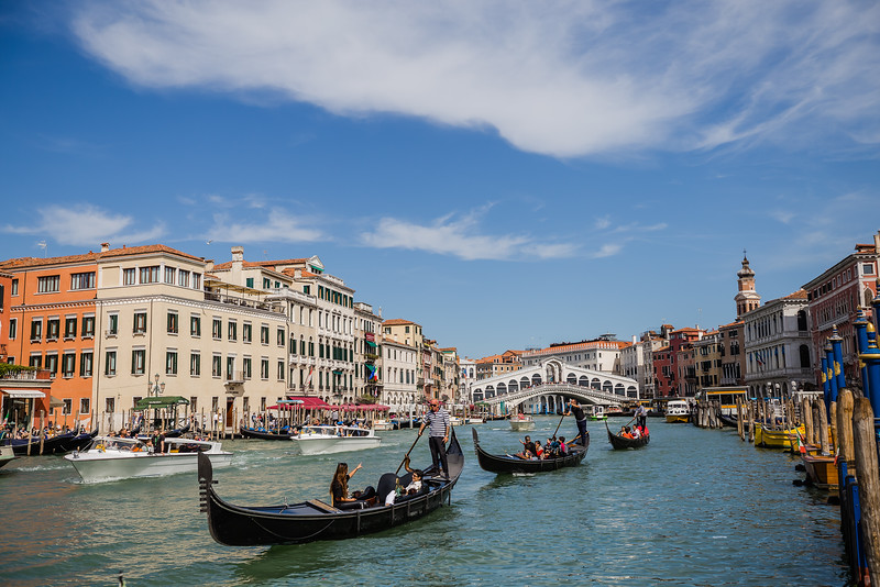 Grand Canal in Venice - Italy Packing List