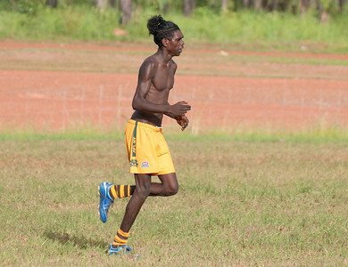 Football at Gapuwiyak - February 2009 pt. 2