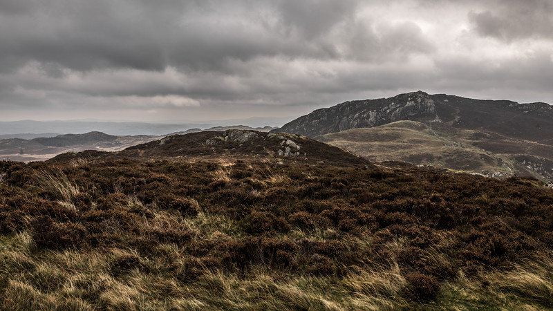 Carneddau Mountains Wales