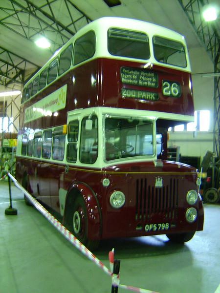 Scottish Vintage Bus musuem