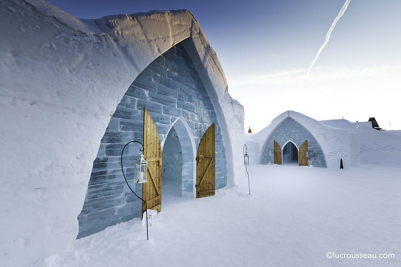 Discover Quebec City on a winter trip. Be sure to stay in the ice hotel!
