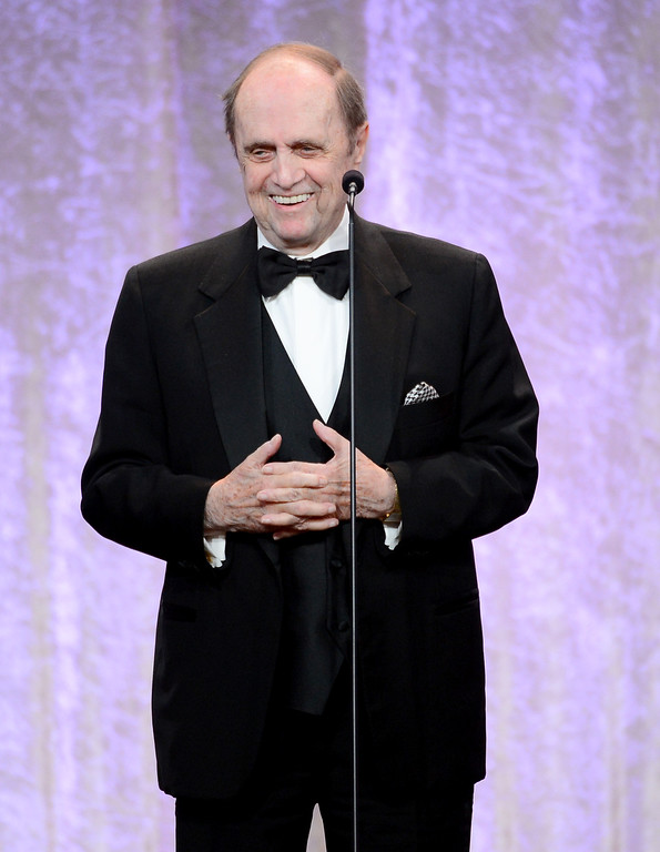 . Actor/comedian Bob Newhart accepts the Icon Award onstage during Broadcast Television Journalists Association\'s third annual Critics\' Choice Television Awards at The Beverly Hilton Hotel on June 10, 2013 in Los Angeles, California.  (Photo by Mark Davis/Getty Images for CCTA)